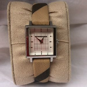 Burberry Women's Nova Check Haymarket Watch